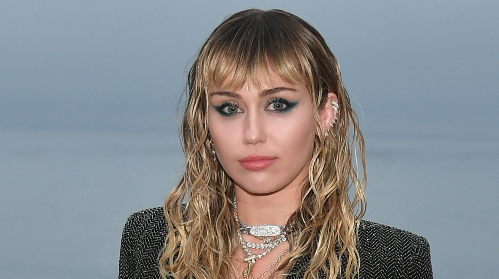 Miley Cyrus souriant