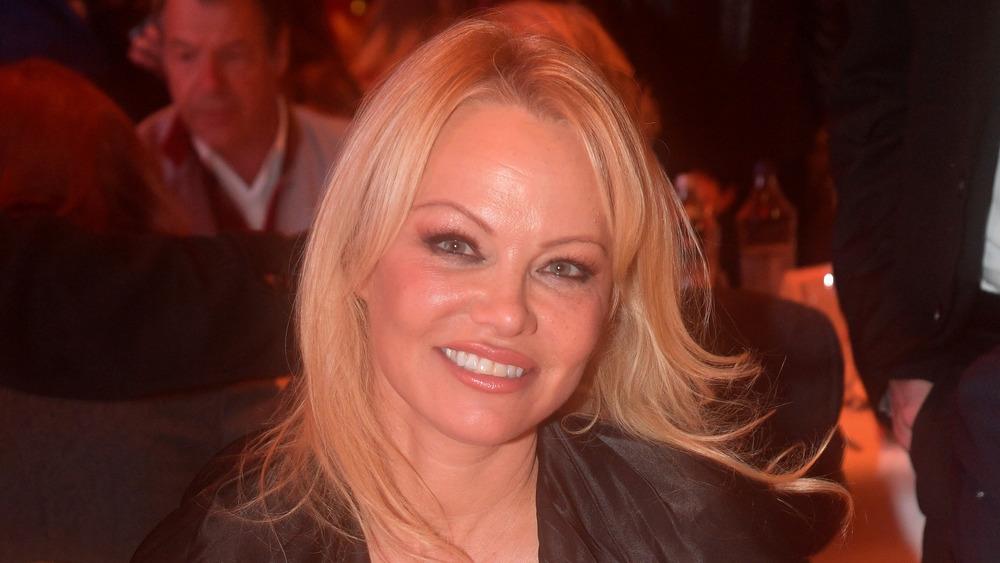 Pamela Anderson en Autriche en 2019