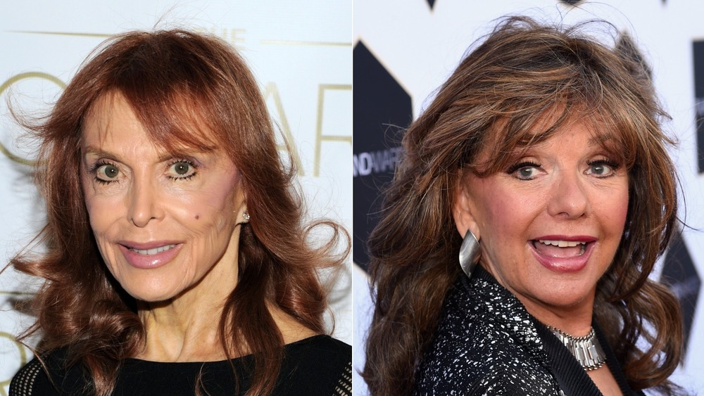 Tina Louise et Dawn Wells souriant