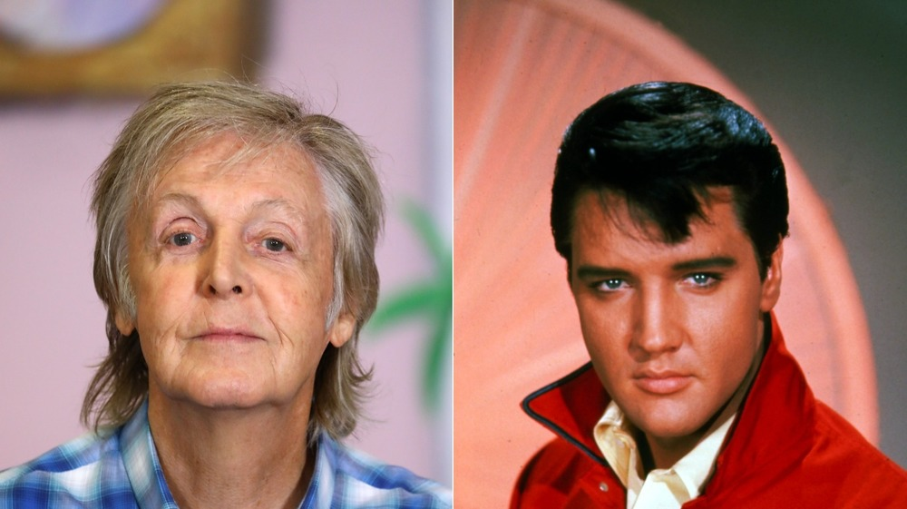 Paul McCartney et Elvis