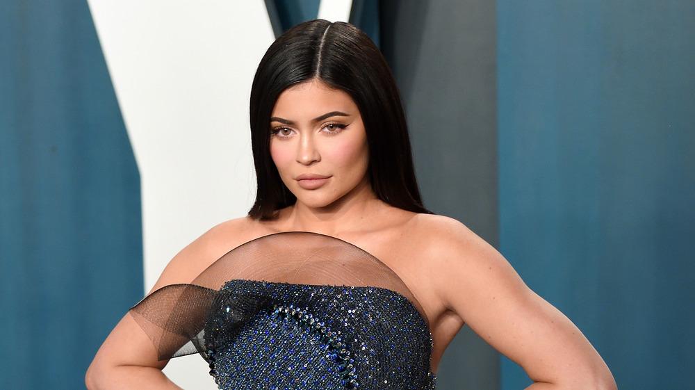 Kylie Jenner posant pour la caméra