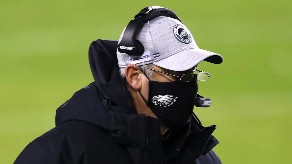 Doug Pederson entraîneur de football