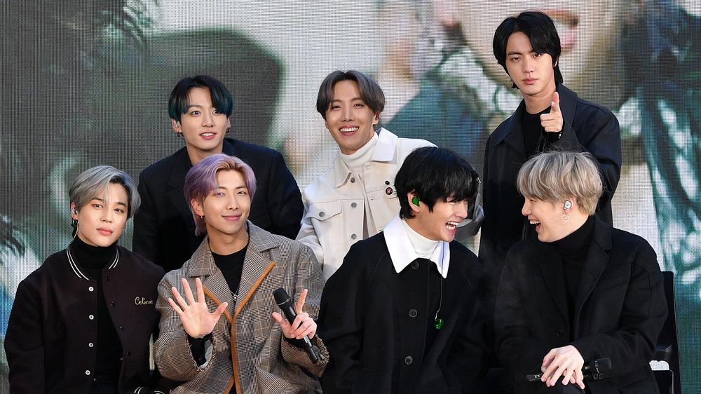 BTS sur scène