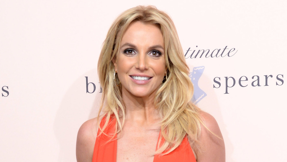 Britney Spears souriant