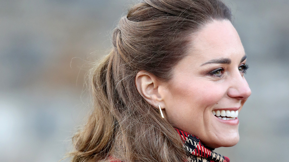 Kate Middleton souriante
