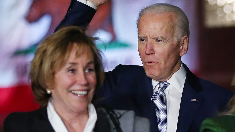 Valerie Biden Owens et Joe Biden souriant