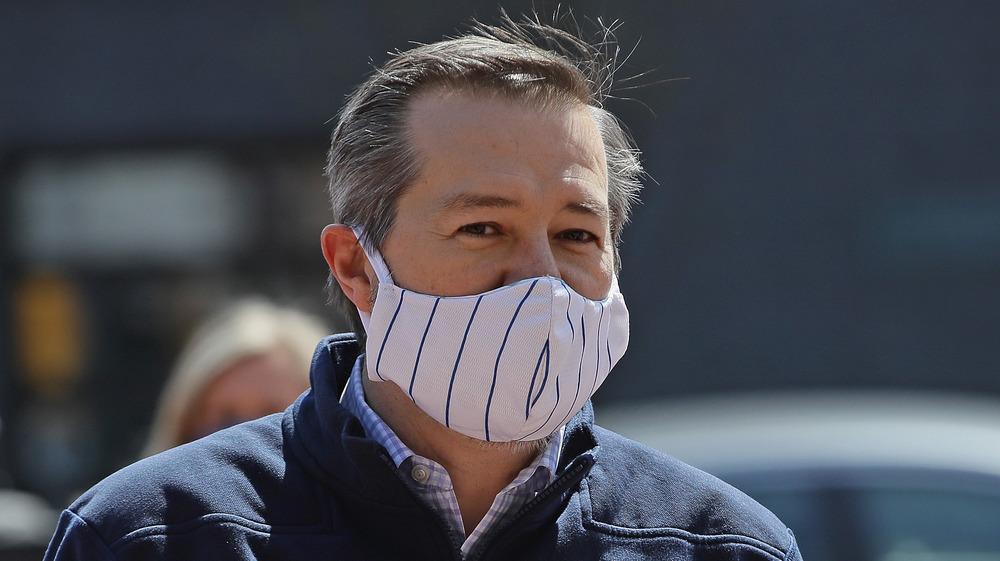 Tom Ricketts dans un masque