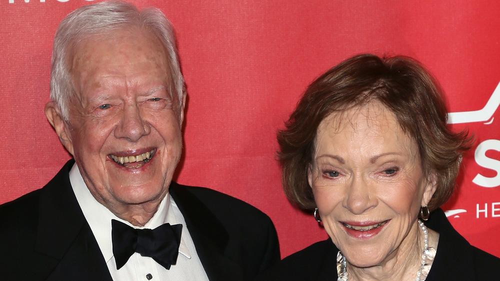 Jimmy et Rosalynn Carter souriant