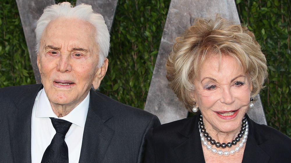 Kirk et Anne Douglas posant