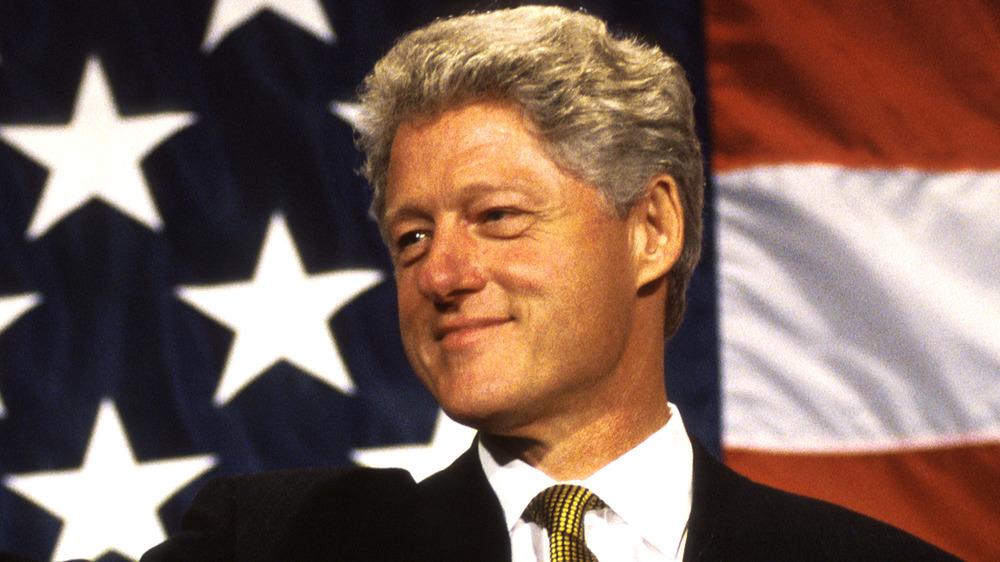 Bill Clinton souriant