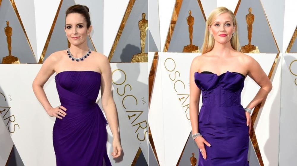 Tina Fey (à gauche) et Reese Witherspoon (à droite) aux Oscars