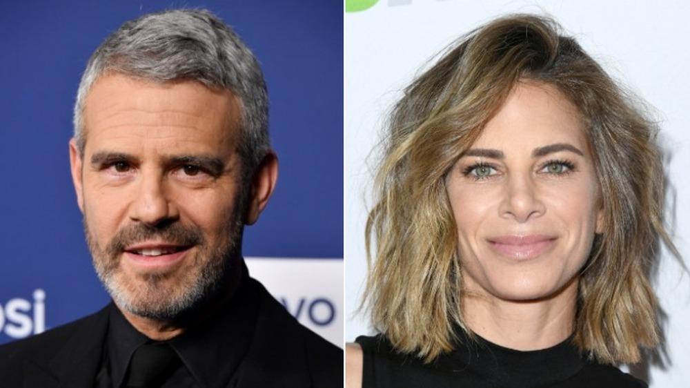 Andy Cohen et Jillian Michaels souriant