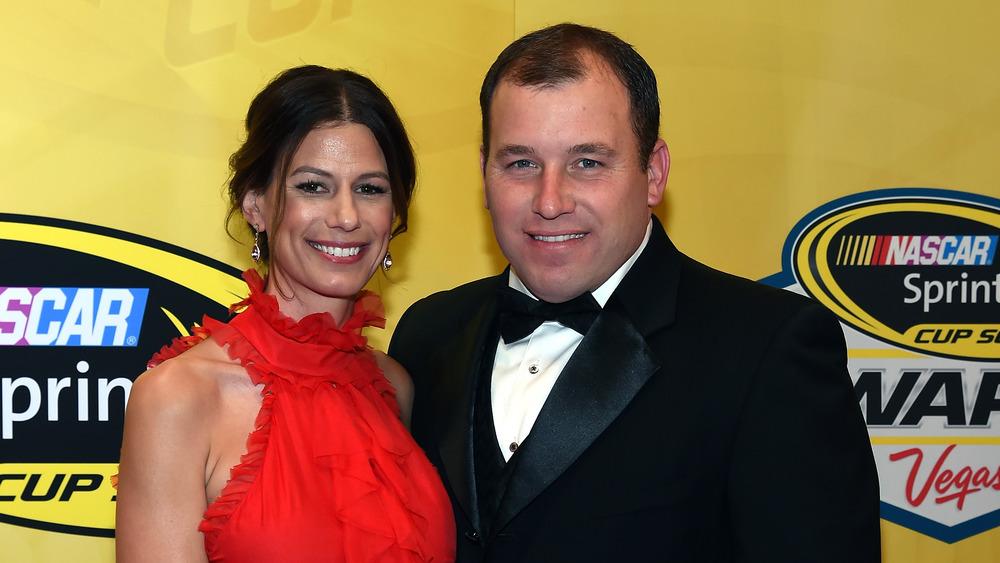 Krissie et Ryan Newman sur le tapis rouge