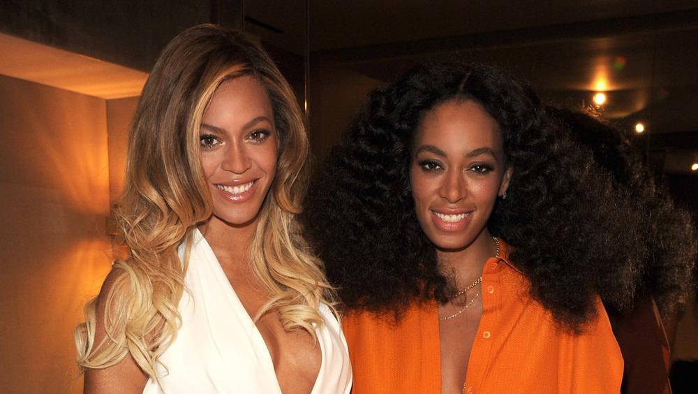 Beyonce et Solange Knowles à l'événement