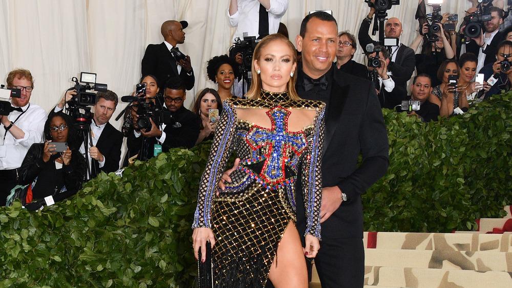 Lopez et Rodriguez au gala du Met 2018