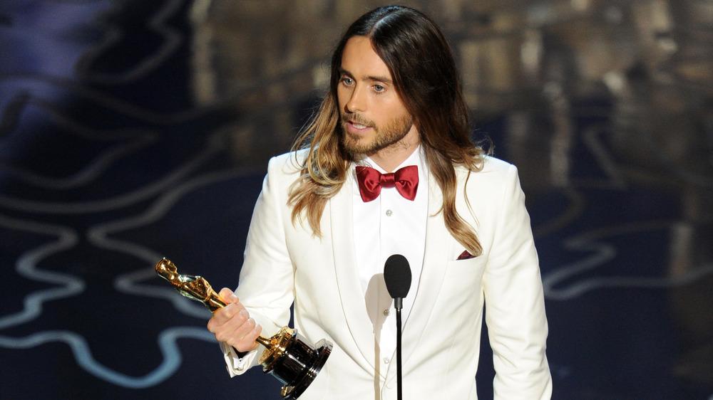 Jared Leto accepte Oscar