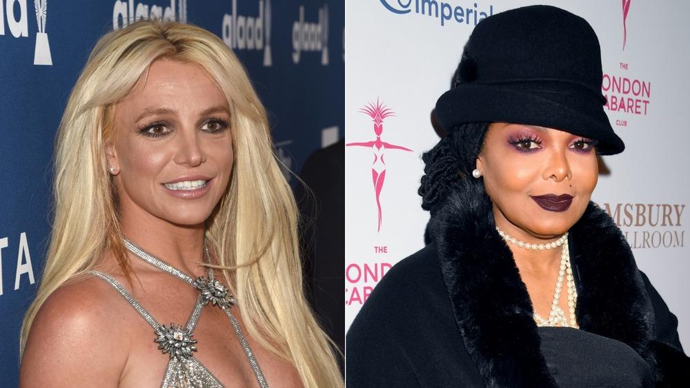 Britney Spears et Janet Jackson