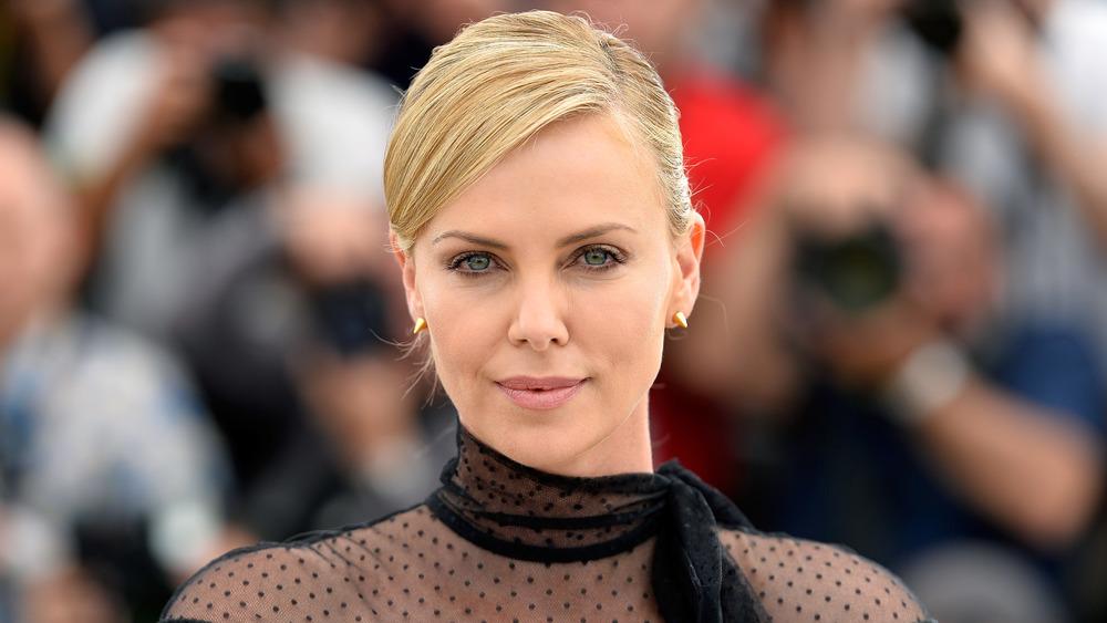 Charlize Theron au Festival de Cannes