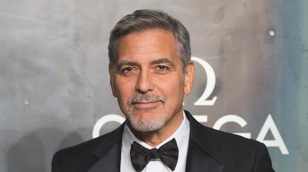 George Clooney au 60e anniversaire d'Omega
