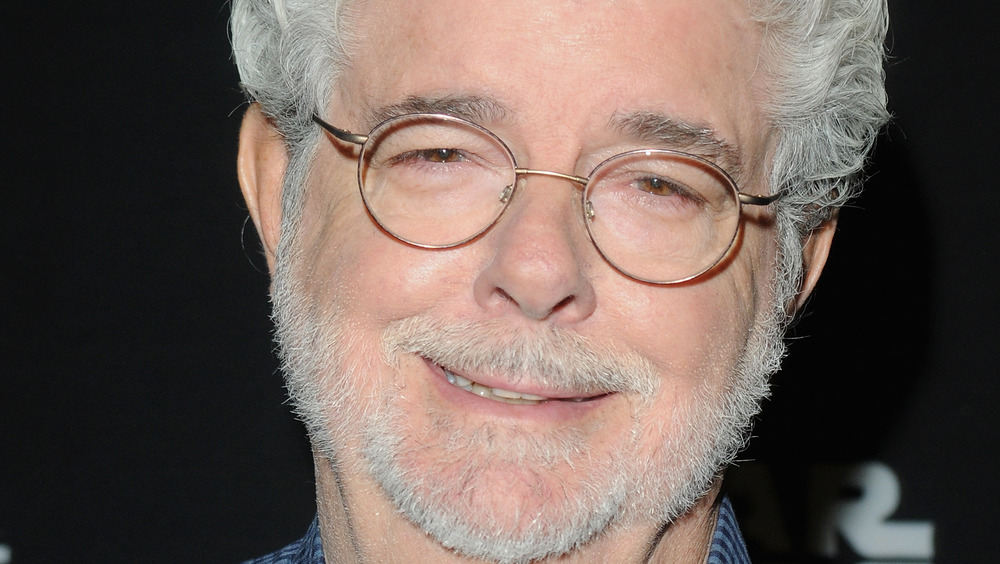 George Lucas lors d'un panel Star Wars