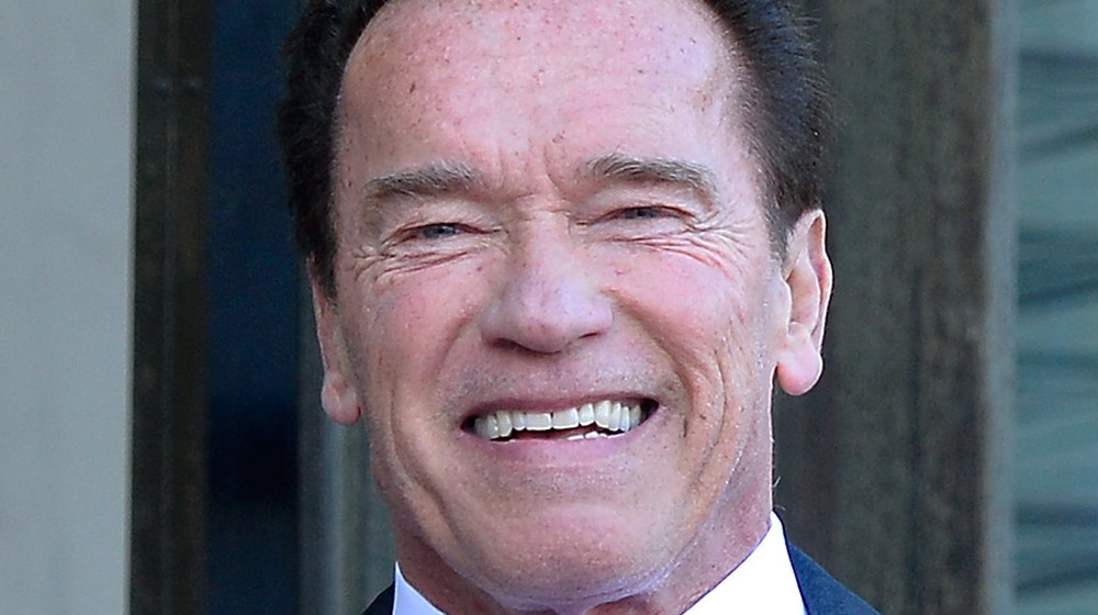 Arnold Schwarzenegger au One Planet Summit