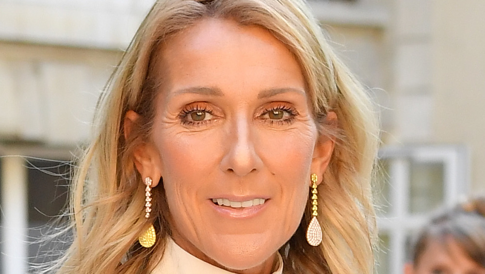 Céline Dion à la Fashion Week de Paris