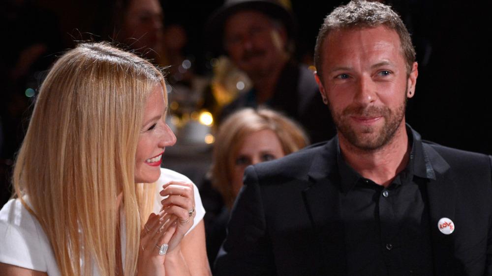 Chris Martin et Gwyneth Paltrow souriant