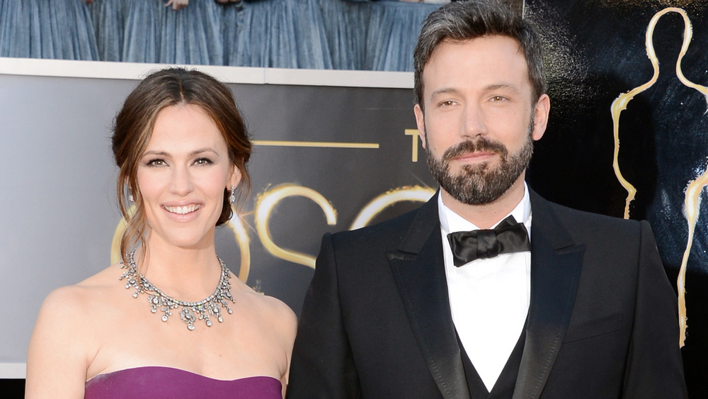 Jennifer Garner et Ben Affleck souriant