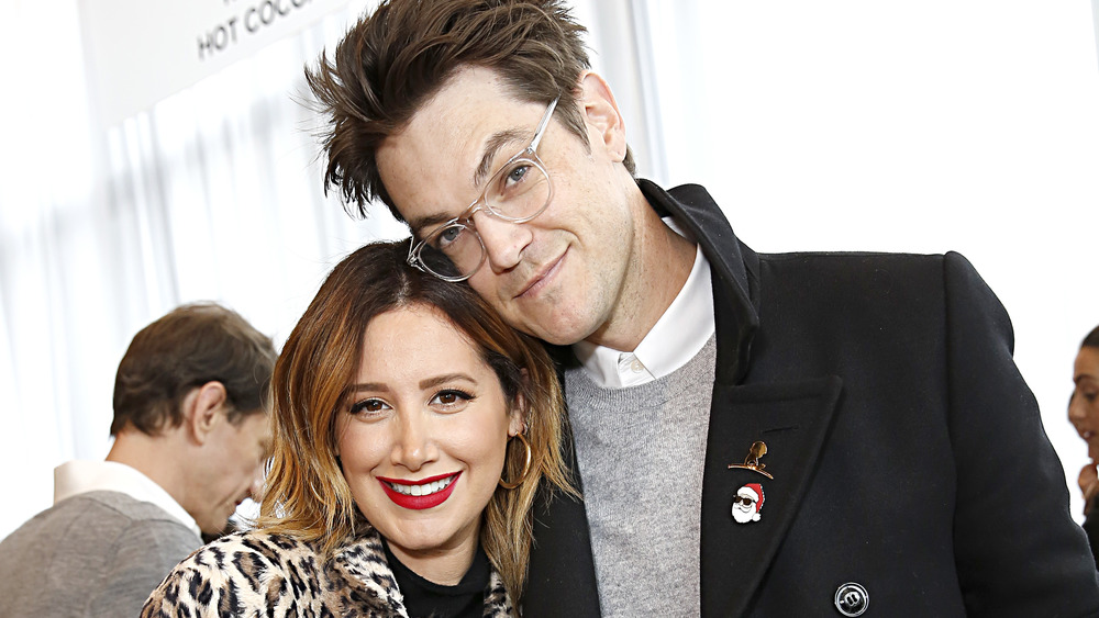 Ashley Tisdale avec son mari Christopher French