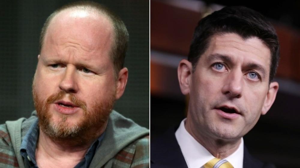 Joss Whedon et Paul Ryan s'exprimant
