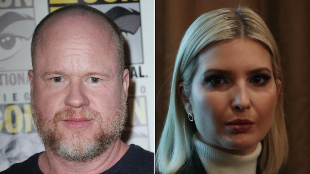 Joss Whedon et Ivanka Trump ont l'air sérieux