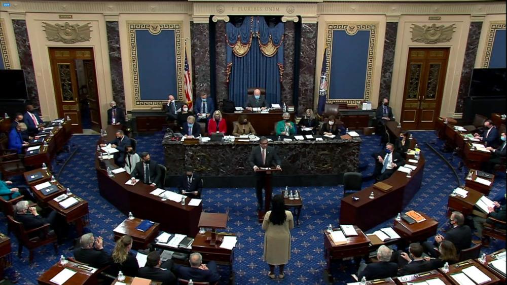 Le Sénat délibère sur la destitution de Trump