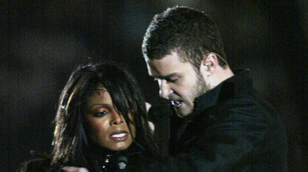 Janet Jackson et Justin Timberlake au Super Bowl 2004