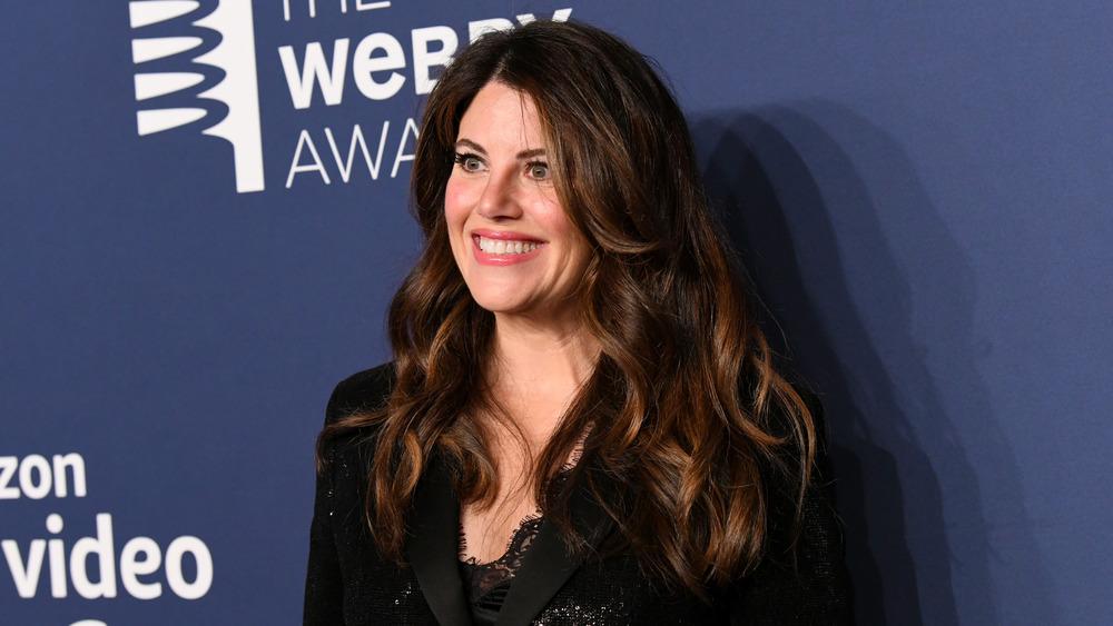 Monica Lewinsky souriant
