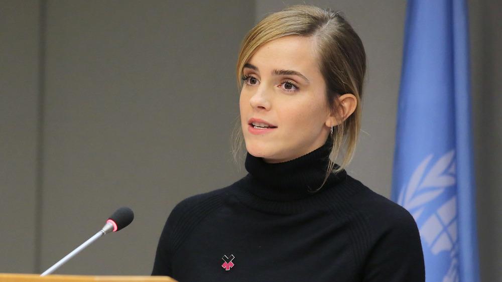 Emma Watson prononce un discours
