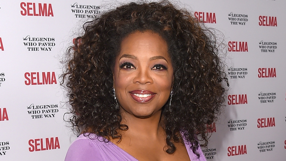 Oprah Winfrey sur le tapis rouge