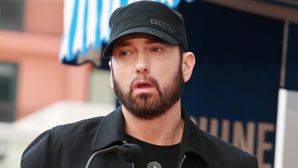 Eminem au Walk of Fame