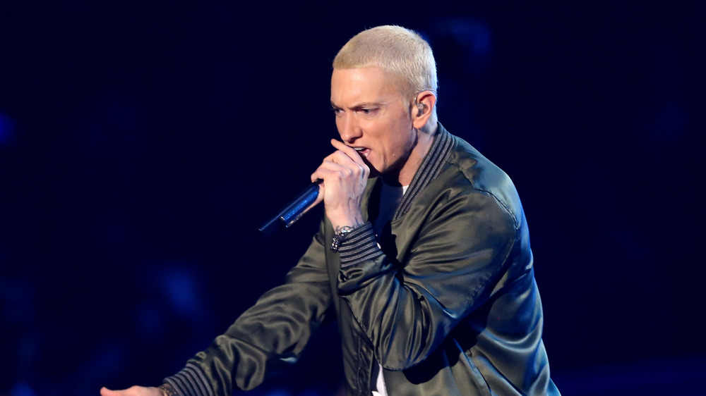 Eminem sur scène