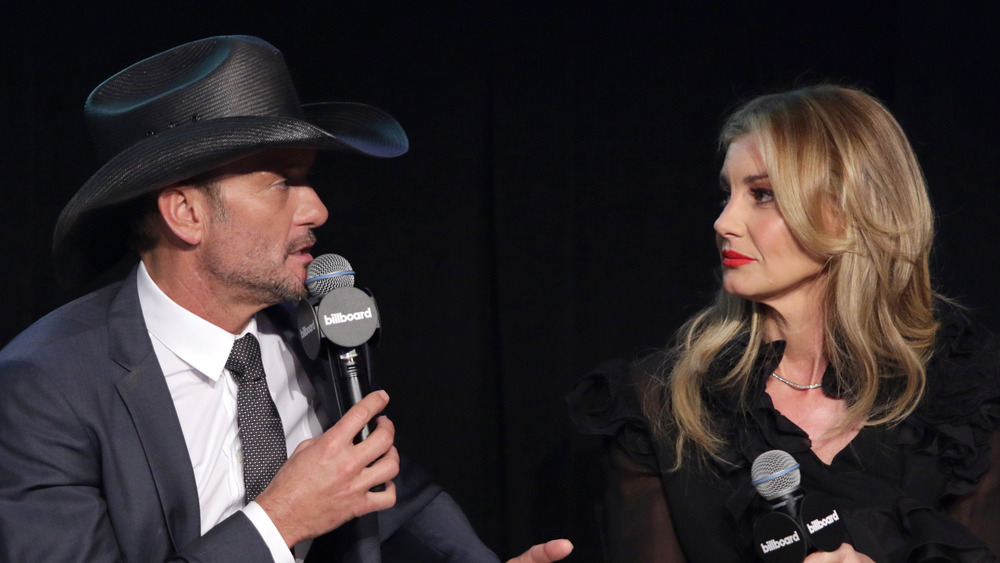 Tim McGraw et Faith Hill