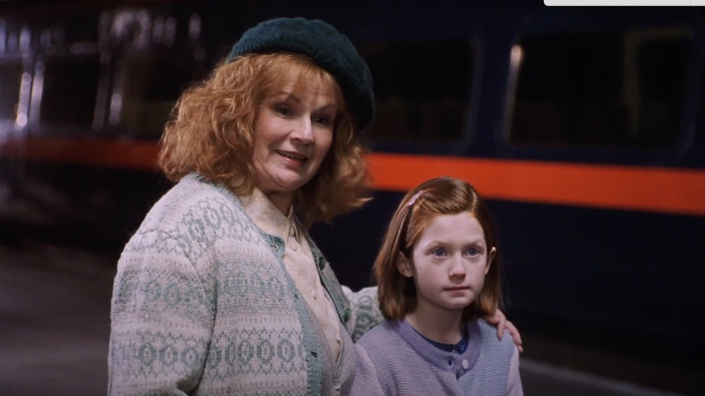 Julie Walters et Bonnie Wright