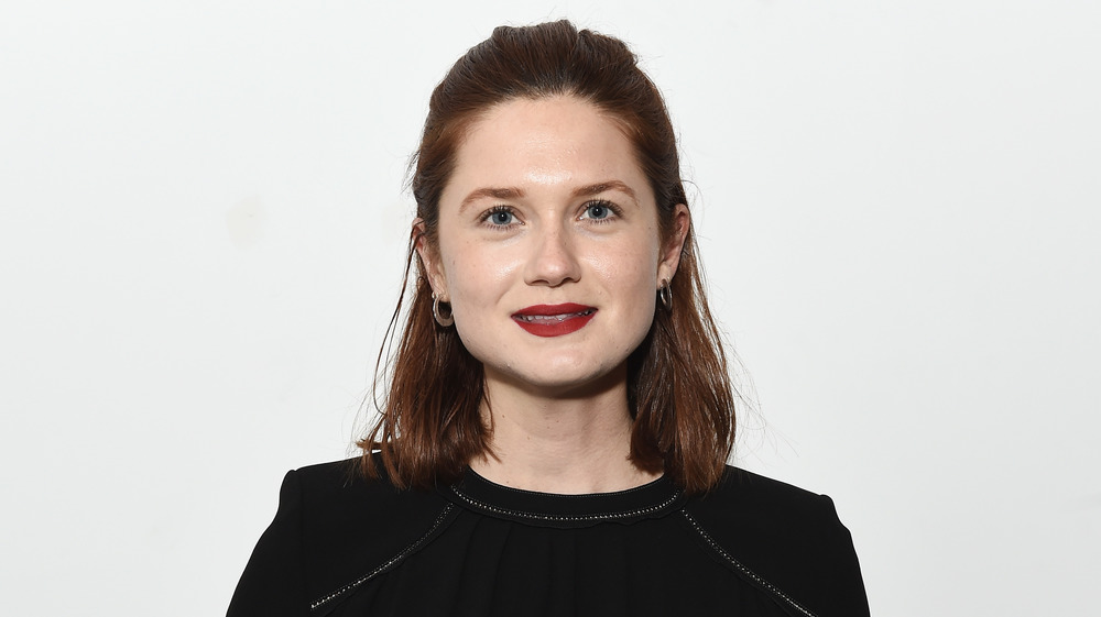 Bonnie Wright lors d'une projection