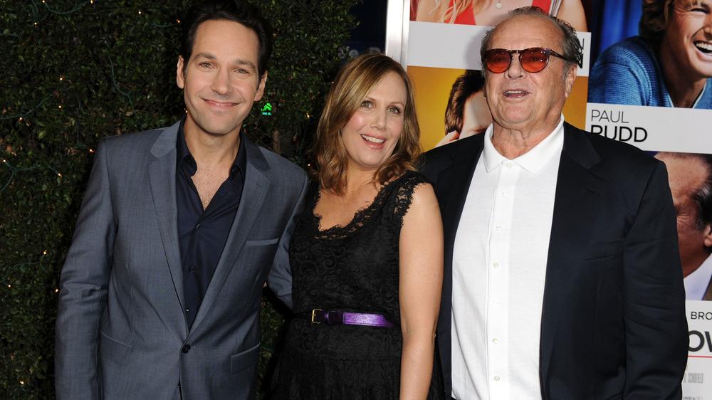 Jack Nicholson et Paul Rudd, souriant