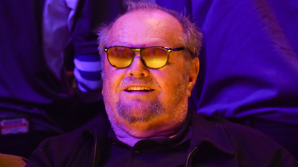 Jack Nicholson avec des lunettes
