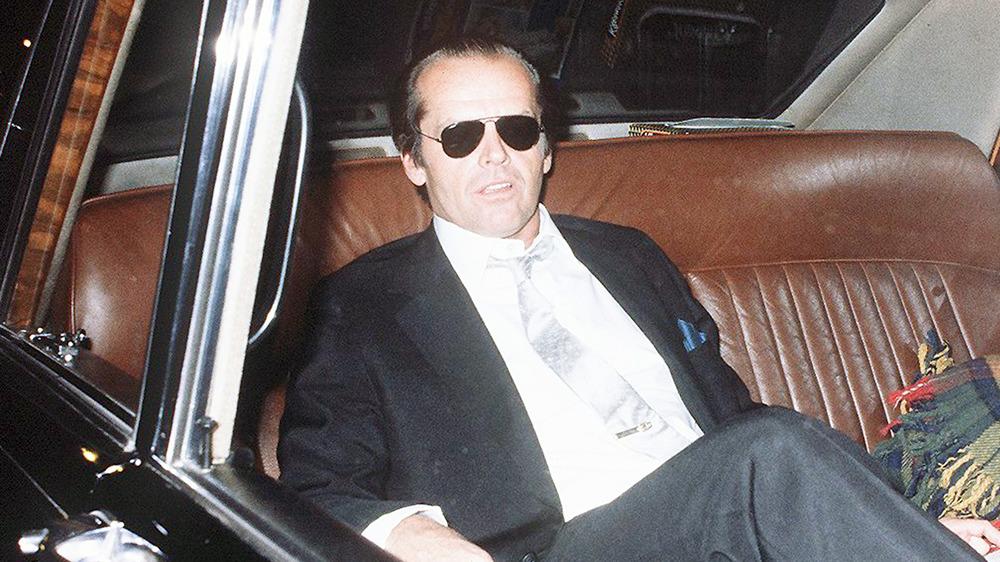 Jack Nicholson en voiture