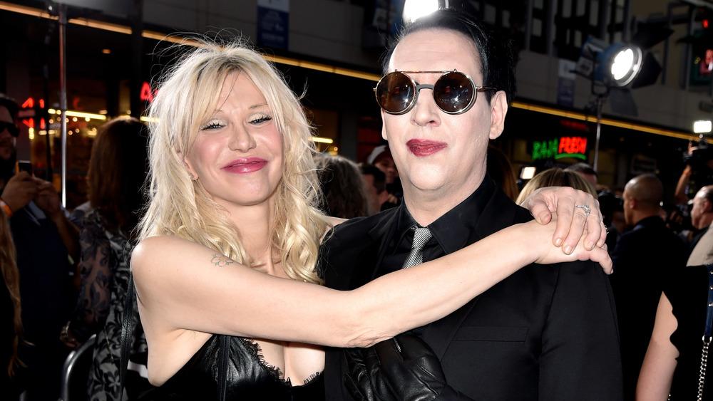 Courtney Love et Marilyn Manson