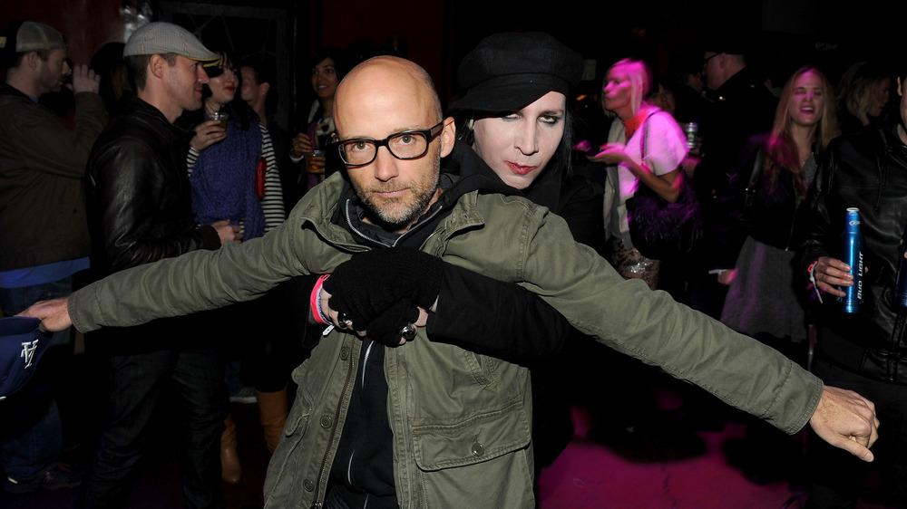 Moby et Marilyn Manson