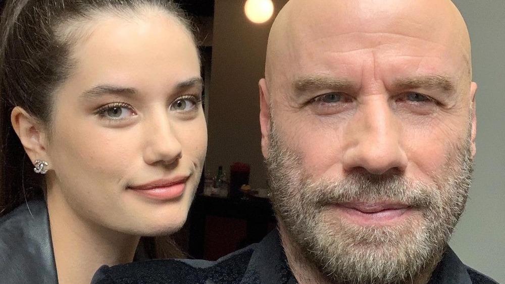 Ella et John Travolta posent pour un selfie