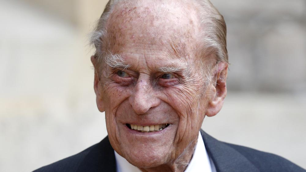 Prince Philip souriant