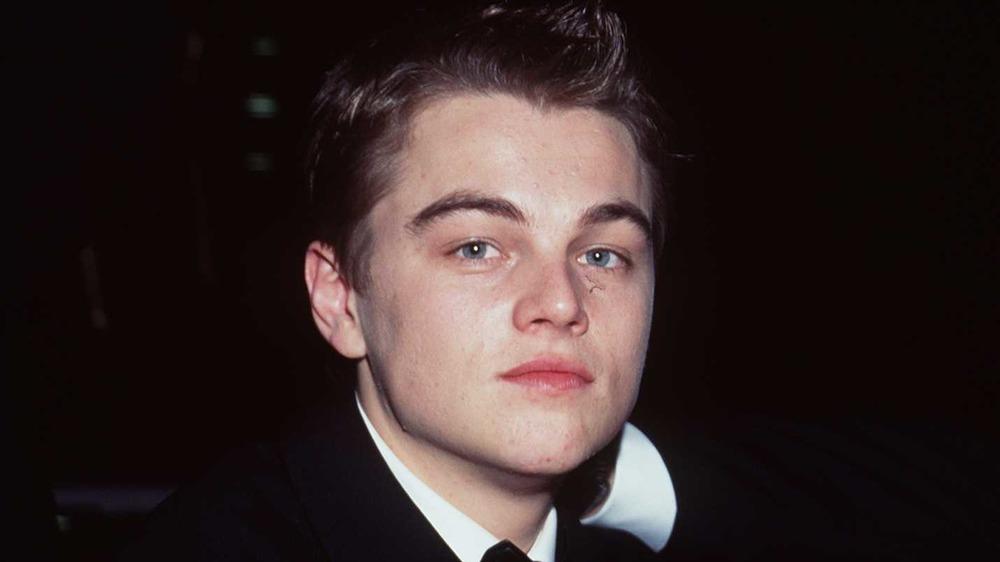 Leonardo DiCaprio aux Golden Globe Awards 1998