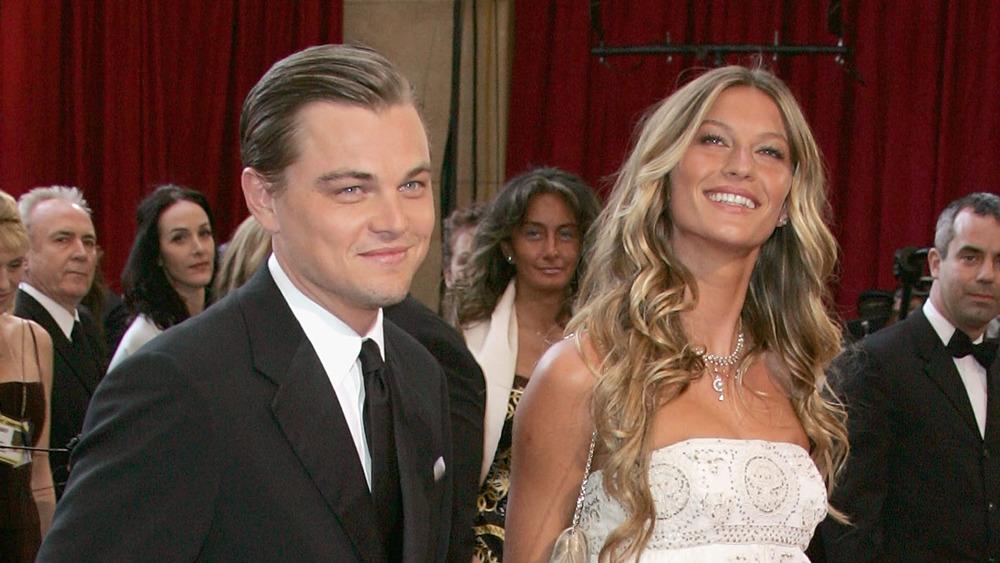 Leonardo DiCaprio et Gisele Bundchen aux Oscars 2005